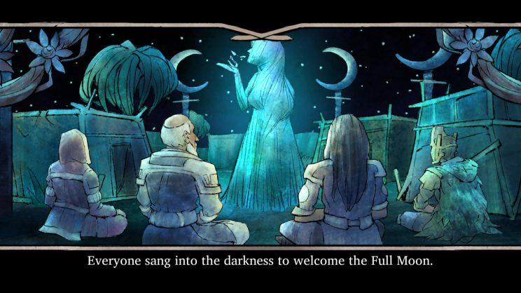 Das Fest des Mondes – leider nur ohne Mond.
